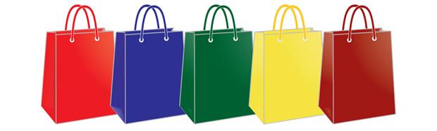 Хартиени торби – СЕРИЯ ЕДНОЦВЕТНИ