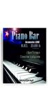 Флаер за пиано бар