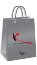 Рекламни хартиени торби